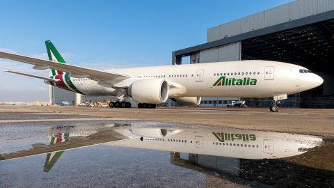 Alitalia começa a voar para Joanesburgo e para Nairóbi em 2018