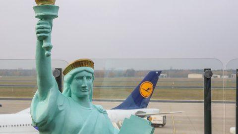 Lufthansa começa a operar voos diretos entre o aeroporto JFK, em Nova York, e Berlim