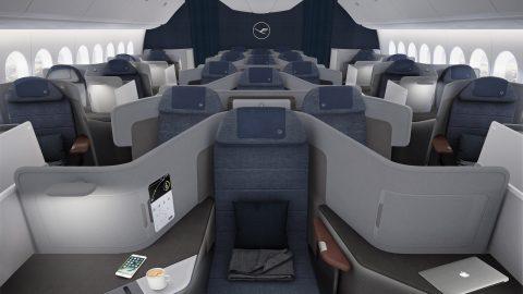Lufthansa revela o novo conceito da Business Class