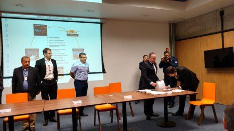 Companhias aéreas, DECEA e GRU assinam acordo de cooperação na manhã de hoje (24.11)