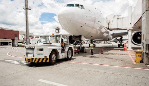 Associação de empresas auxiliares do transporte aéreo e Ubrabio querem intensificar uso de biocombustível na frota em solo