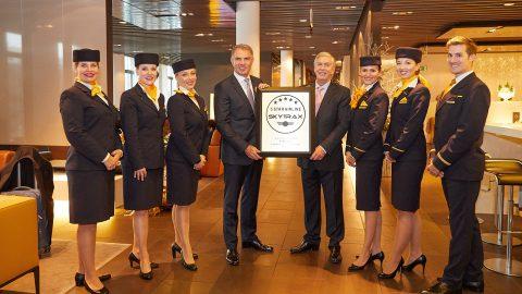 Lufthansa é a única companhia aérea 5 estrelas na Europa