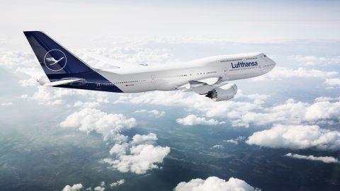 Lufthansa apresenta um novo design de marca