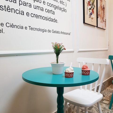 Pais acompanhados dos filhos no dia 12 de agosto terão gelato grátis na gelateria Vico, em Higienópolis