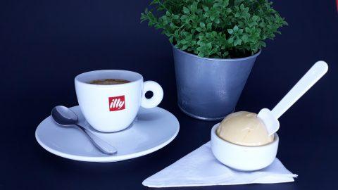Café espresso com gelato de doce de leite é a novidade da gelateria Vico, em Higienópolis
