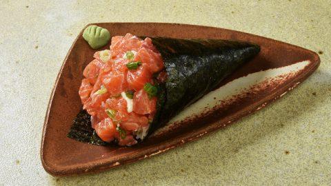 Restaurante Japa 25 no Mercado Municipal tem seis opções de temaki, entre elas a de polvo