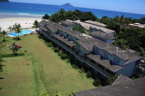 Hotel de frente para o mar na praia de Juqueí, em São Sebastião (SP), tem tarifas especiais para o feriado de Corpus Christi