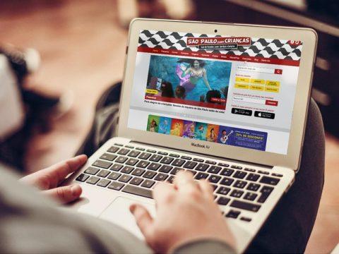 Plataforma digital investe em conteúdo geolocalizado para ajudar pais e mães a encontrarem passeios para os filhos