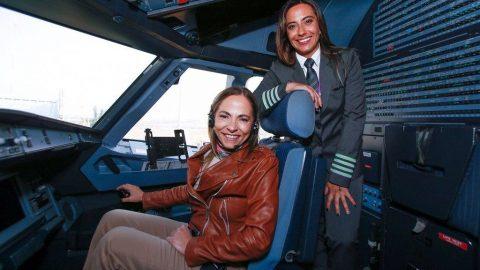 SKY se compromete a aumentar a contratação de mulheres pilotos