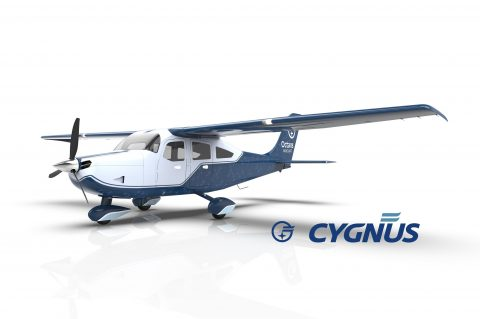 Octans Aircraft conclui com sucesso ensaios de verificação de integridade do protótipo do Cygnus