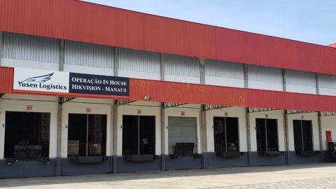 Yusen Logistics foi escolhida para cuidar da logística In-House da nova fábrica da Hikvision em Manaus