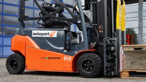 Swissport estabelece como meta chegar a pelo menos 50% da frota global de veículos movida a eletricidade até 2025