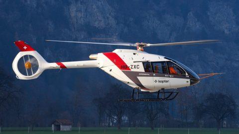 Kopter apresenta o design final do helicóptero SH09 na HAI Heli-Expo 2020