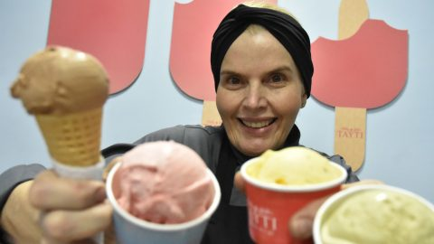 Chef Elisabeth Caruso Tayti inaugura gelateria própria em Moema