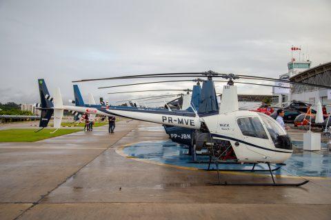 Especialistas do mercado de helicópteros discutem retomada do setor, amanhã 17h