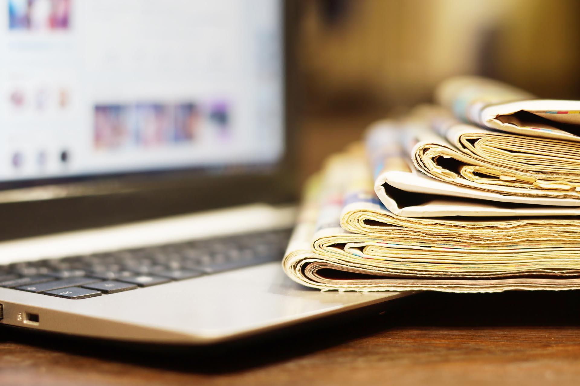 Clipping e monitoramento de mídia EGOM